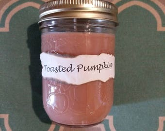 Toasted Pumpkin soy Candle