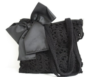 Crochet shoulderbag Beth