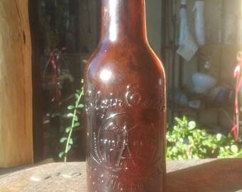 Antique beer bottle  Elgin Eagle