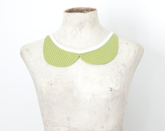 "Peter Pan collar, polka dots, vintage Lolita ""Sweet Party"""