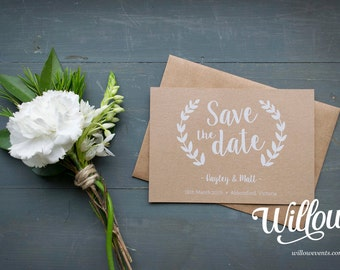 SAVE THE DATE // Love & Heart
