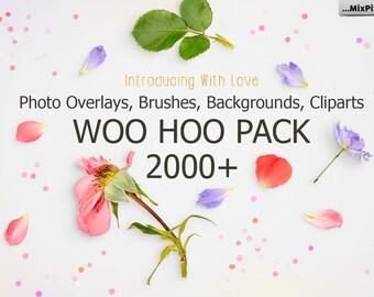 2000+ Photo Overlay Bundle