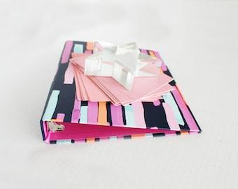 Styled Stock Photo Binder Notecards