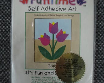 "Painting ""Tulip"" sand colored do-it-yourself"