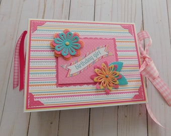 Birthday Girl Mini/ Scrapbook Album