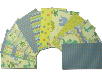 Dinosaur Cardstock, 4x6 Card Fronts, 4x6 Cardstock, Dinosaur Pocket Page Cards, Dino 4x6 Cardstock, Patterned Paper, Dino Paper, T-Rex Paper