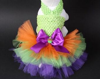 HALLOWEEN Dog Tutu Dress -- Cupcake Cutie