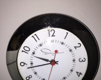 Ingraham Kitchen Wall Clock - 1940s
