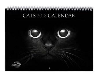 Cat 2018 Wall Calendar