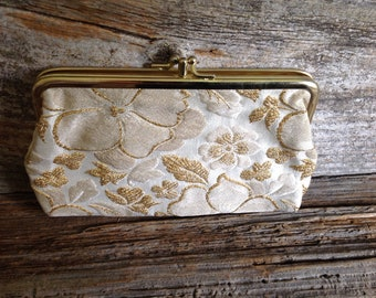 Vintage Embroidered Wallet/Clutch  embroidered/wallet/clutch/bridal/wedding/purse/party