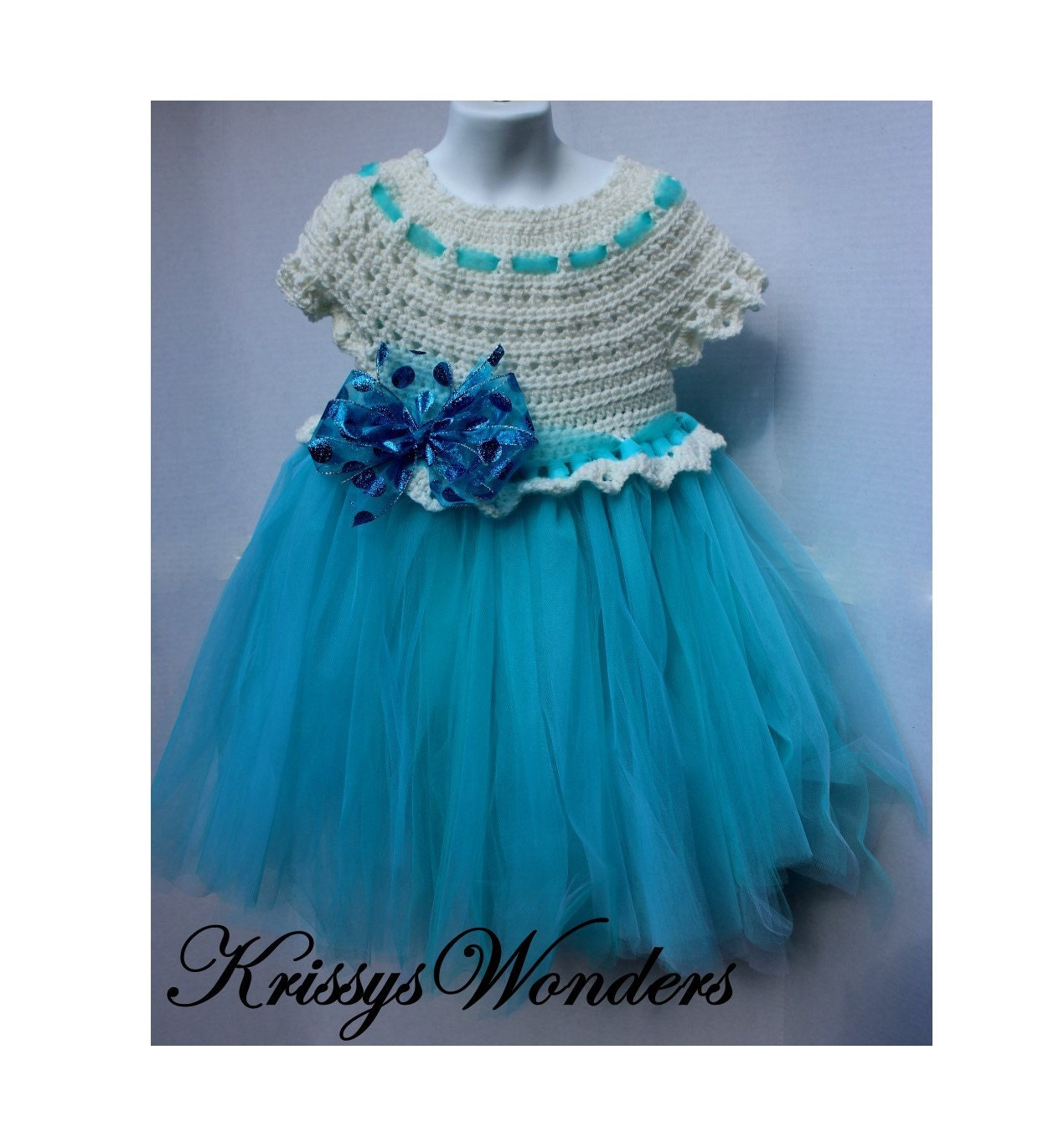 Crochet Dress Pattern - Crochet Tutu Pattern - 5/6 7/8 10/12 14/16 ...