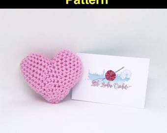 Heart Key Ring Amigurumi Pattern