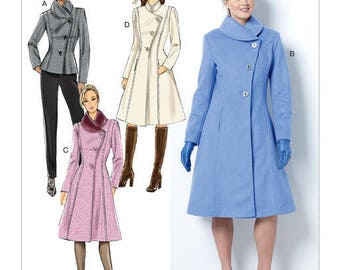 Coat by B6497 Butterick sewing pattern
