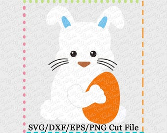 Easter Bunny Rabbit Egg SVG Cutting File, Easter bunny svg, Easter rabbit cut file, bunny svg, rabbit cut file, easter egg svg cut file