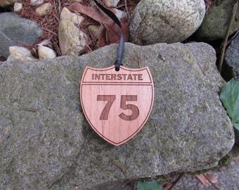 Custom Interstate Ornament