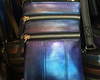MOTHERS DAY PROMO Shimmer Painted Leather Phone Bags