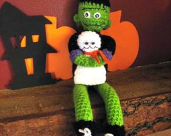 Frank and Boo Crochet Pattern