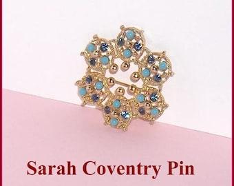 Sarah Coventry Vintage Brooch Pin  Canada