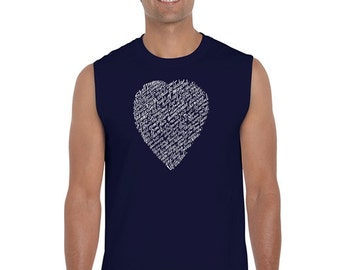 Men's Sleeveless Shirt - WILLIAM SHAKESPEARE'S Sonnet 18