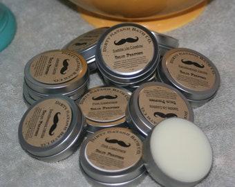 1 oz tin  Solid Perfume tin Lavender Vanilla Essential Oil Blend