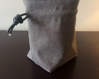 Ebru Stand-up Dice Bag, Square Bottom