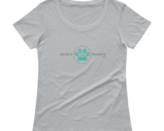 Earth's Answers Ladies' Scoop Neck T-Shirt