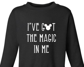 Magic In Me, Crewneck, Sweater