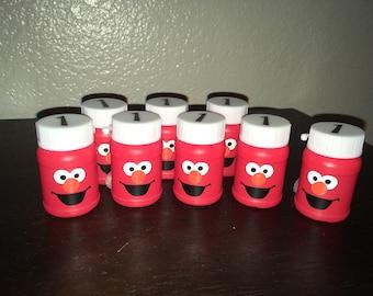 ELMO PARTY FAVORS, Elmo Birthday Party, Sesame Street Birthday Decoration, Disney Birthday  Party, Elmo Bubbles