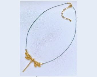 """Dragonfly"" necklace"