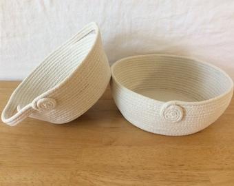 Cotton Rope Basket (Mini)