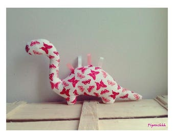 Decoration / toy dinosaur butterflies Roses