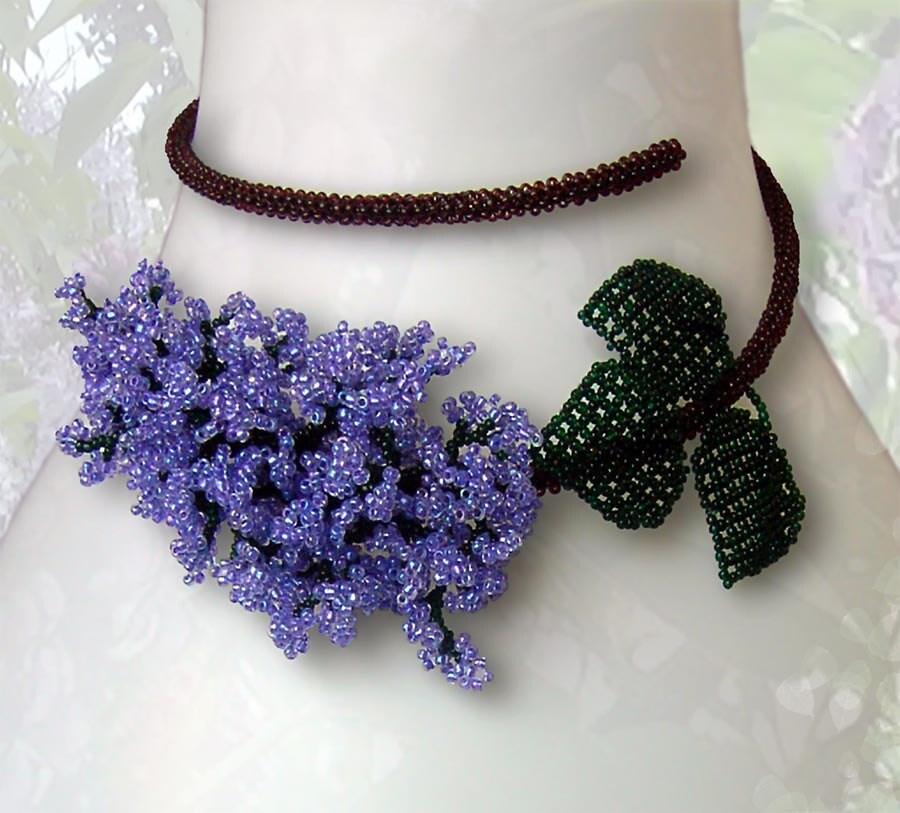 ANEMONE Beading Tutorial - Flower pendant and earrings ...