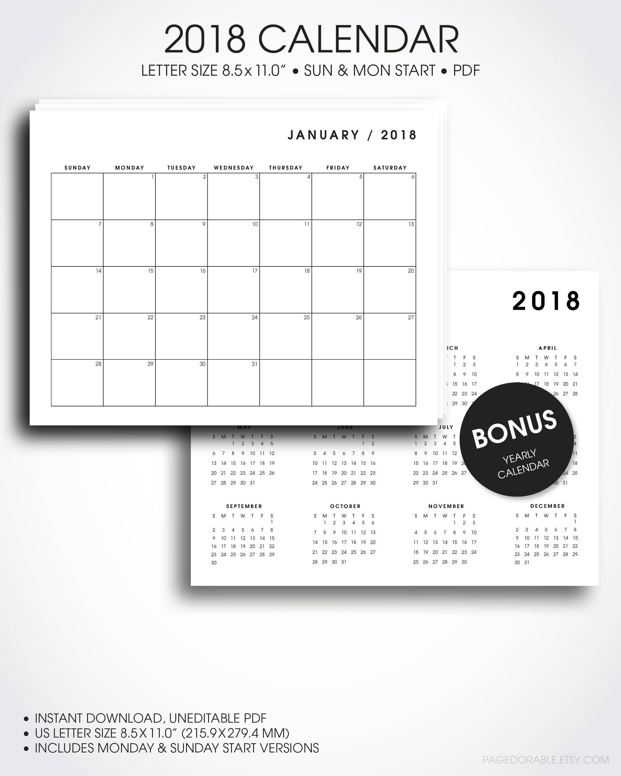Beste Frei Druckbare Kalendervorlagen Ideen - Beispiel Business ...