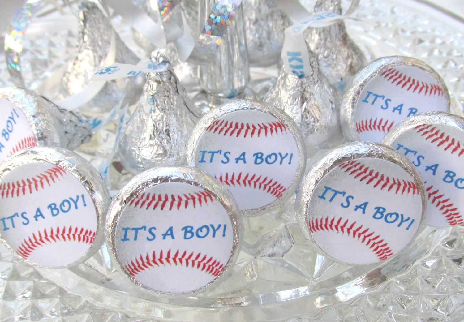 Baseball sports baby shower its a boy party favors stickers zoom negle Image collections