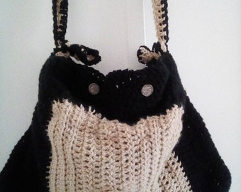 Double bag created crochet