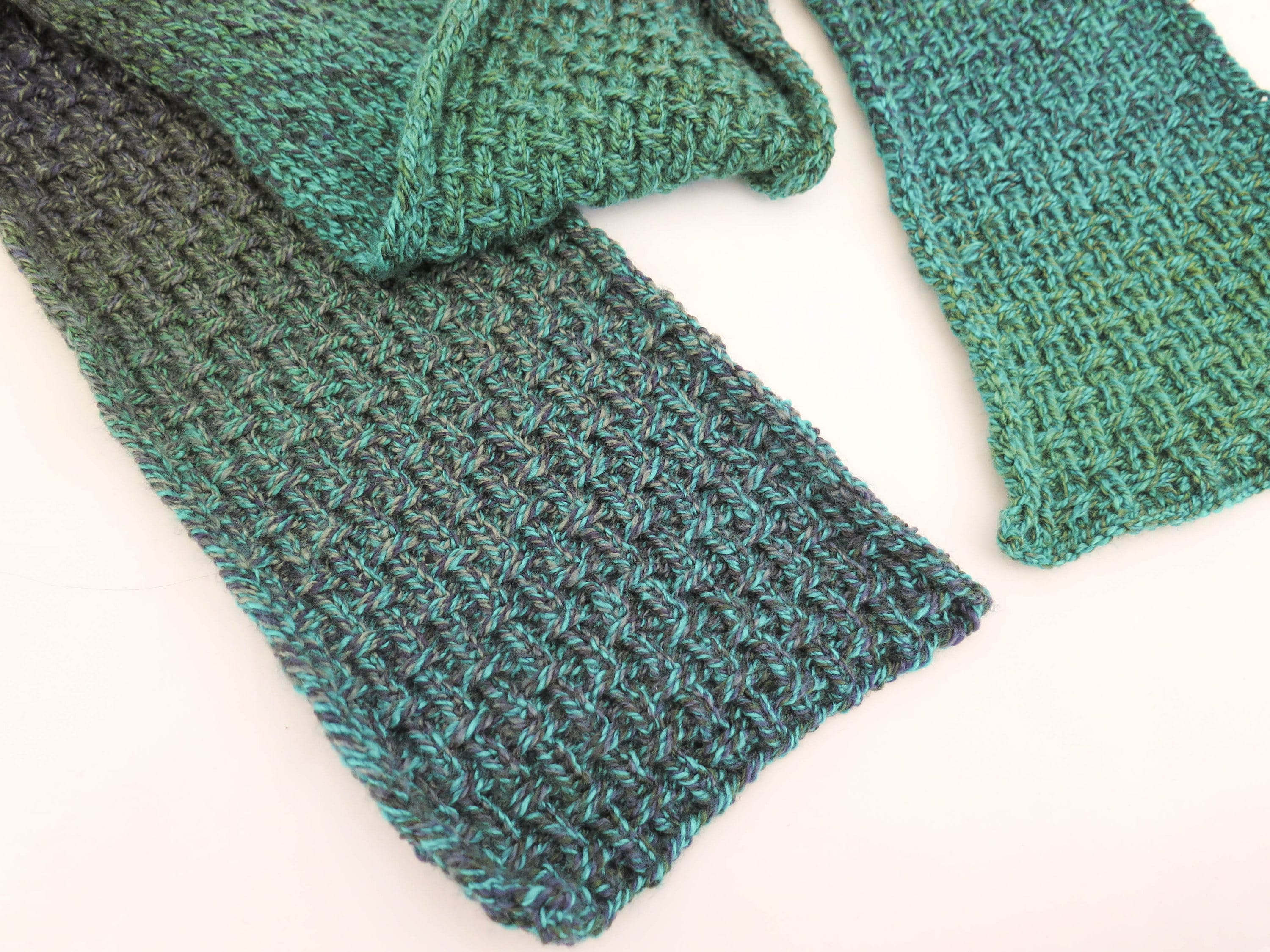 Awesome Reversible Knitted Scarf Patterns Pictures - Blanket ...
