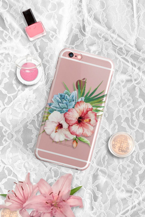 iPhone 7 case Clear Floral iPhone 6s Plus Case Clear iPhone Vintage Floral iPhone 6 Case Clear Samsung Galaxy S7 Case Samsung Galaxy S6 Case