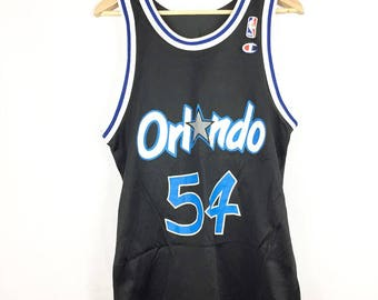 Vintage Orlando Magic Horace Grant Champion Jersey NBA Throwback Mens Size 40 Medium