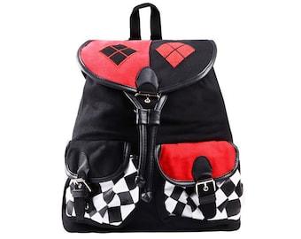 Harley Quinn Backpack Knapsack