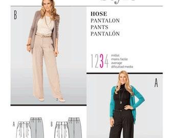 Burda 7439 Size 8-20 Misses Pants Sewing Pattern / Uncut/FF
