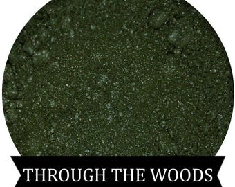 THROUGH THE WOODS Moss Green Eyeshadow Fall Halloween Collection