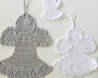 Lace crochet Angel