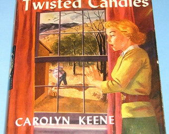 Nancy Drew #9 1st Wrap DJ Sign of the Twisted Candles