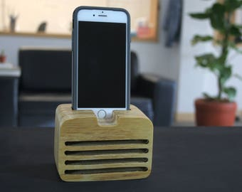 wooden iphone speaker acoustic iphone speaker for iphone 6 iphone 7 including the 13325