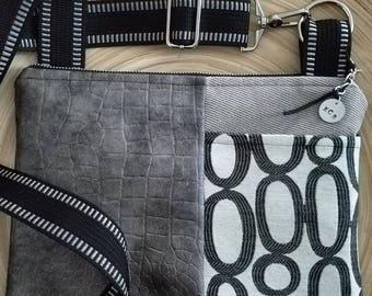 Crossbody Bag/ Small Crossbody Bag/ Zipper Crossbody Bag/ Handsfree Bag/ Everyday Bag/ GoGo Crossbody Bag