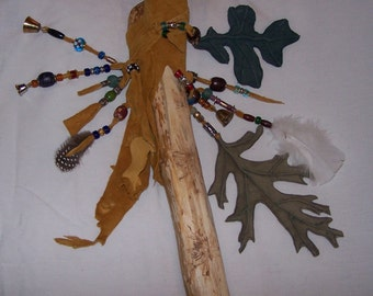 Fairie or Wizard Staff - Ready to go!