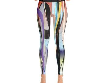 SGRIB Print - design 40 - Women's Fashion Yoga Leggings - xs-xl sizes