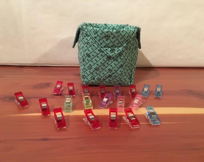 Measure Twice Cut Once, Fabric Organizer.