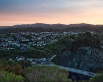 Trinidad CA Sunrise, Landscape Photography, Metal Print, Large Prints, Humboldt County CA, Sunrises, Rivers, DJerniganPhoto