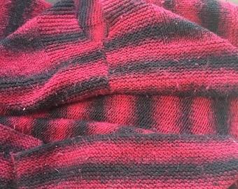 Cocoon shrug/cozy wrap